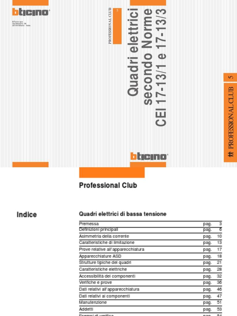 Schema Elettrico Hm : Bticino impianti elettrici quadri elettrici