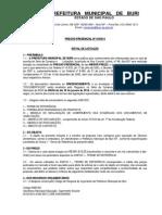 Pregão Presencial - 01-2014 -Gêneros alimentícios