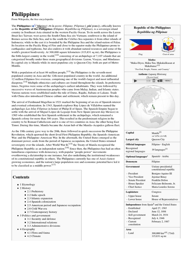 Philippines history philippines politics general fandeluxe Choice Image