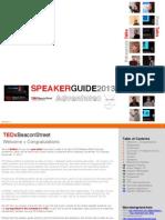 TEDxBeaconStreet Speaker Guide