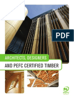 Architects, Designers and PEFC Certified Timber