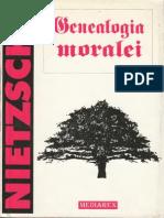 Friedrich Nietzsche Genealogia Moralei 1996