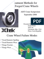 Crane Wheel Heat Treating Methods