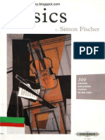 Simon Fischer - Basics (Violin Method)