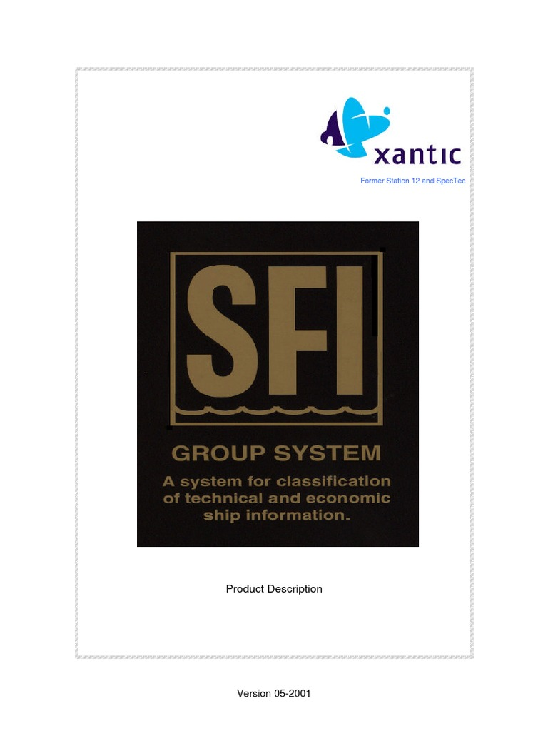 Sfi group system specification technical standard ships fandeluxe Gallery
