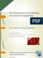 B-H Property Legisation Lecture 3