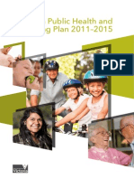 Vic Public Health Wellbeing Plan