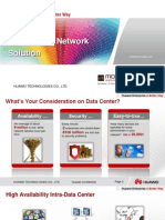 Huawei End-To-End Data Center Network Solution