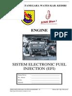 Modul Praktek Sistem Electronic Fuel Injection Efi 1