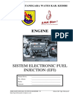 Modul Praktek Sistem Electronic Fuel Injection Efi 1