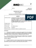 Msc 91-7-6 - Outcome of Msc 90 (Ics)