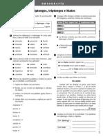 23922864 Actividades Ortografia Acentuacion de Diptongos Triptongos e Hiatos Trama