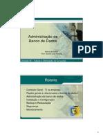 otaciliopereira-EC.BD - Unidade 10 - Segurança e Administração de Banco de Dados