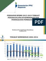 PERSIAPAN RPJMN 2015-2019 TERKAIT PENANGGULANGAN KEMISKINAN DAN PENINGKATAN PEMERATAAN