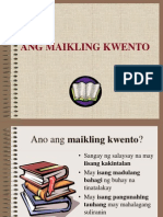 Ang Maikling Kwento Ng Mag-Aaral Ppt.
