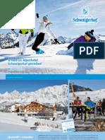 Winterprospekt 2013 / 2014 Hotel Schwaigerhof