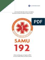 Apostila do SAMU de Santa Catarina