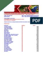 TABELA DE PREÇOS IDEAL PRINT ORIGINAIS 2014
