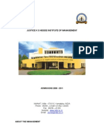 Justice k s Hegde Institute of Management