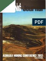 ERITREA MINING JOURNAL Asmara Mining Conference 2013