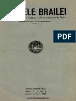 Analele Brăilei 10, nr. 01, ianuarie-martie 1938