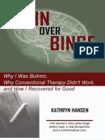 Brain Over Binge - Hansen Kathryn