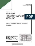 3500 40m Proximitor Monitor Module 143488-01