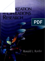 Optimization in Operation Research_Rardin-1998