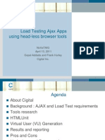 Headless Browser Tools for Load Testing 2011 04