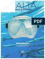 Diving Brochure German
