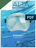 Diving Brochure German