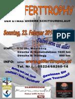 Gilferttrophy 2014 - Ausschreibung