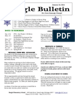 Beagle Elementary School Newsletter January 24, 2014