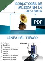 Los Reproductores de Música a través del Tiempo - Jose Luis Álvarez