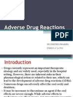 Adverse Drug Reactions ,Deepika