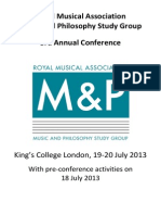 MPSG 2013 Programme With Covers