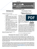 January 2014 Fleischmanns Flyer