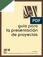 Ilpes - Guia Para Presentacion de Proyectos