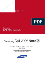 Verizon Wireless Samsung Galaxy Note 3 Manual