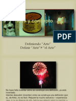 Definiendo El Arte