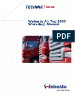 Webasto Air Top 3500 Workshop Manual