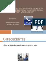 Implementación de la Gestión de Prioridades de una red de telefonía IP al interior de una empresa, utilizando SS7