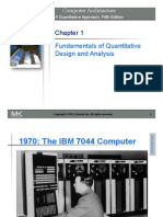 Chapter 1 (Fundamentals of Quantitative Design and Analysis)