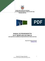 Manual de Procedimento Secretaria de Família- versão 2.1