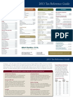 2013 Tax Ref. Guide Rate
