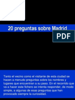 Preguntas Sobre Madrid