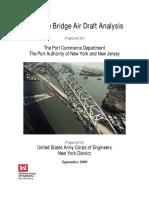 Bayonne Bridge Air Draft Analysis