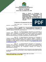 Câmara Municipal de Aracaju - LEI_2576 - Adequa a SMTU às exigências do Código de Trânsito