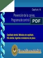 Capitulo 10.- Prevencion odontologia