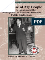 In Defense of My PeopleAlonso S. Perales and the Development of Mexican-American Public Intellectual